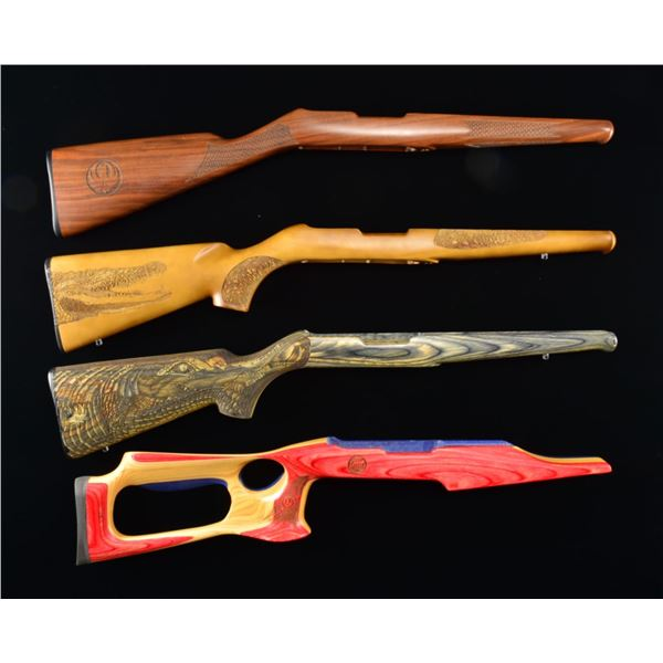SPECIAL RUGER STOCKS & BOY SCOUT BOXES.