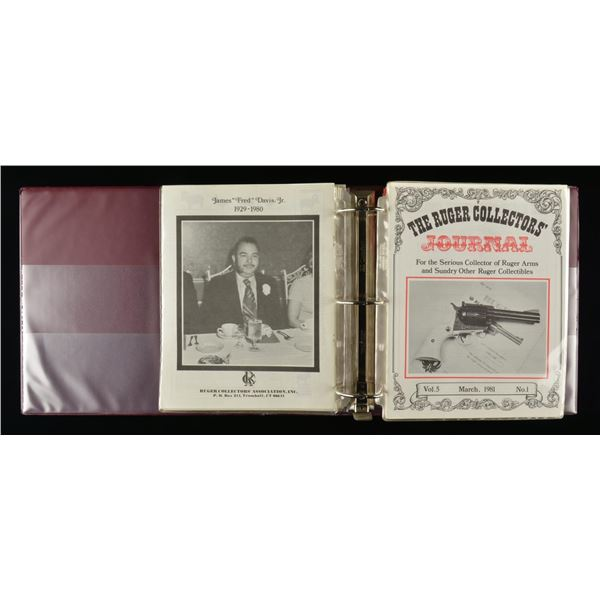 ENORMOUS OFFERING OF RUGER PAPER, CLOTH GOODS &