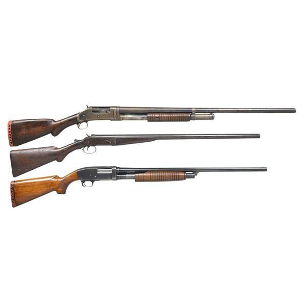 WINCHESTER, FOLSOM & WARDS SHOTGUNS.