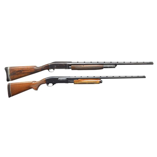 REMINGTON 10-T & 870 MAGNUM PUMP SHOTGUNS.