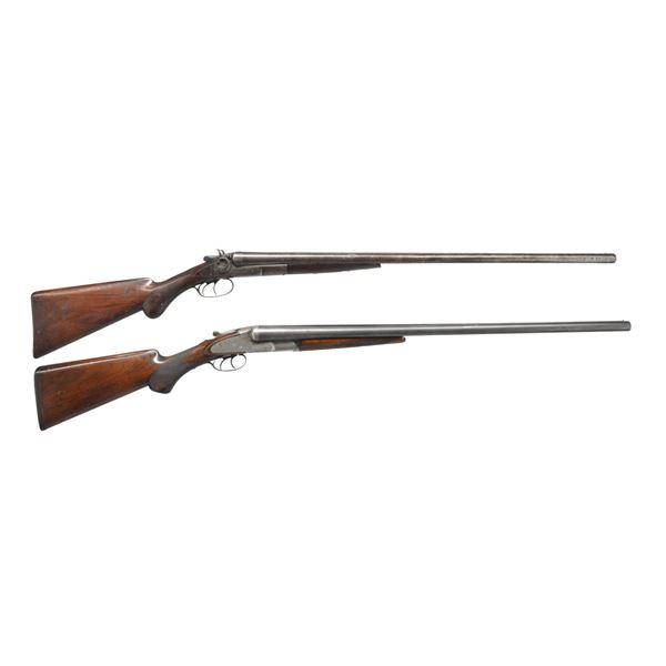 REMINGTON & BAKER SXS SHOTGUNS.