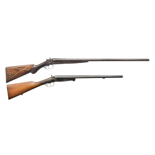 REMINGTON & HUSQVARNA HAMMER SXS SHOTGUNS.