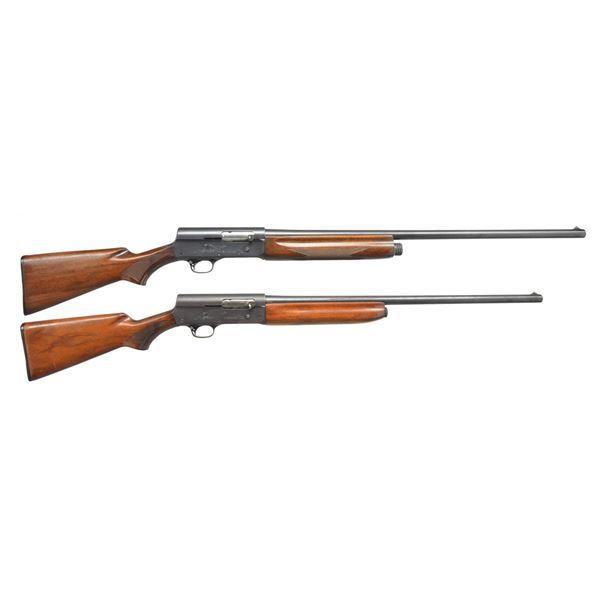 2 REMINGTON MODEL 11 SEMI AUTO SHOTGUNS.