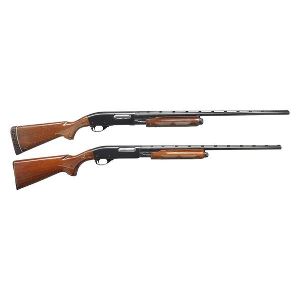 2 REMINGTON 870 WINGMASTER PUMP SHOTGUNS.
