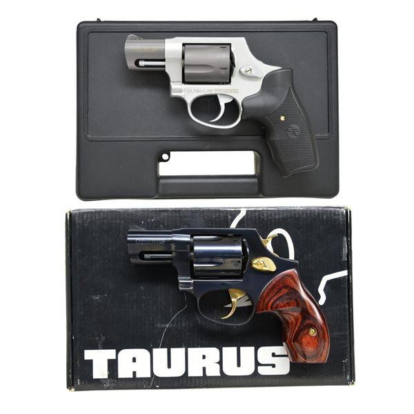 2 TAURUS MODEL 85 DA REVOLVERS.