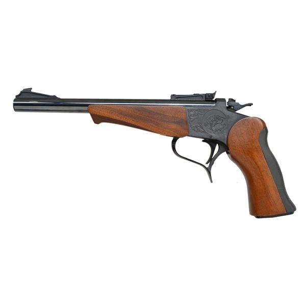 THOMPSON CENTER CONTENDER SINGLE SHOT PISTOL.