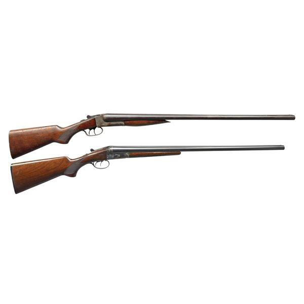 RIVERSIDE ARMS & SAVAGE / FOX SXS SHOTGUNS.
