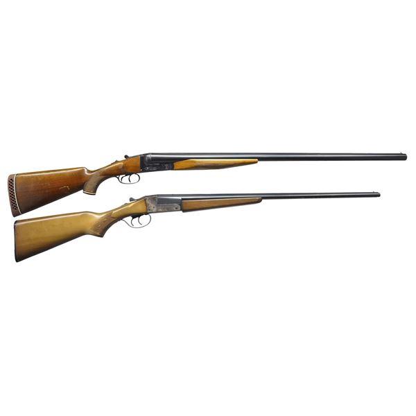 RICHLAND ARMS 711 & STEVENS 311 SXS SHOTGUNS.