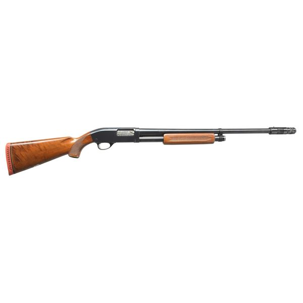 JC HIGGINS MODEL 20 PUMP SHOTGUN.