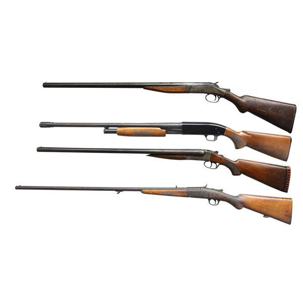 H&R, MOSSBERG, STEVENS & EUROPEAN SHOTGUNS.