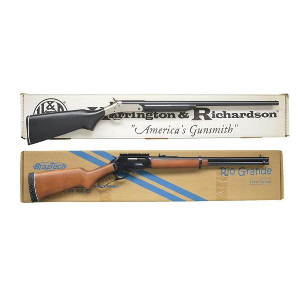 HARRINGTON & RICHARDSON & ROSSI SHOTGUNS.