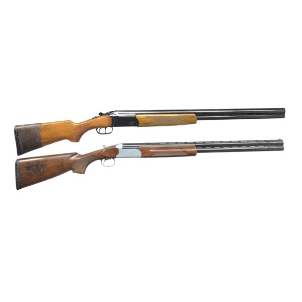 BOITO & AMERICAN ARMS O/U SHOTGUNS.