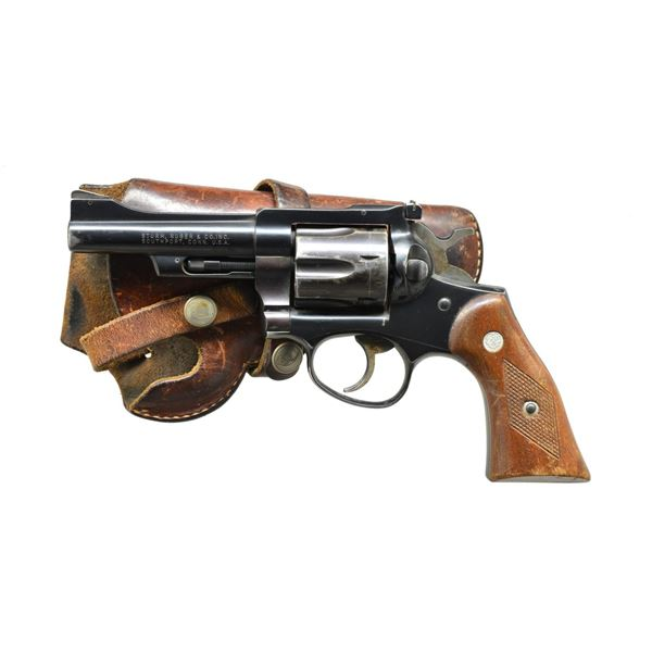 RUGER SECURITY-SIX REVOLVER.