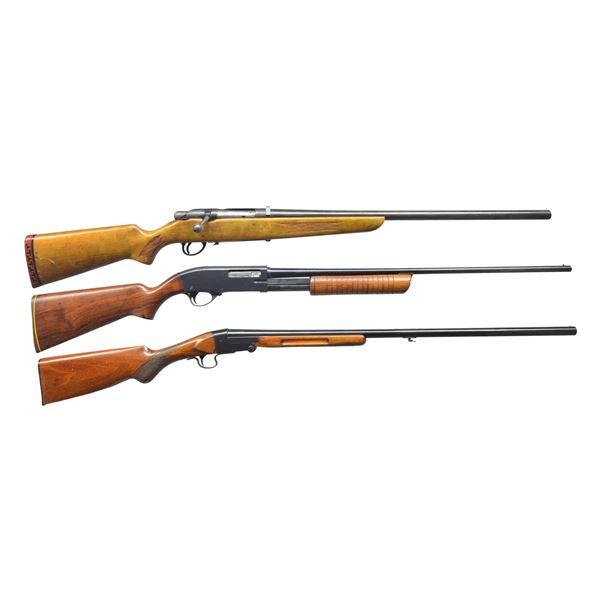 STEVENS, HIGH STANDARD & BERNADELLI SHOTGUNS.