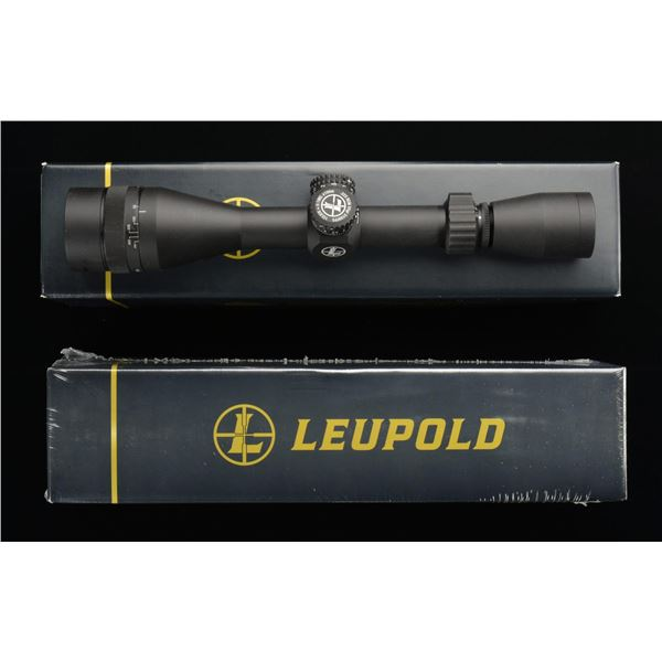 2 LEUPOLD MARK AR MOD-1 4-12X44 RIFLE SCOPES.