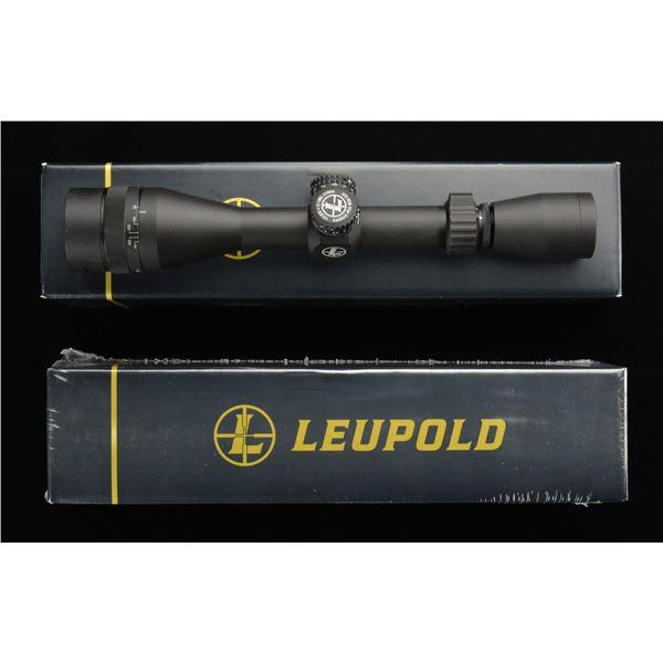 2 LEUPOLD MARK AR MOD-1 4-12X44 RIFLE SCOPES.