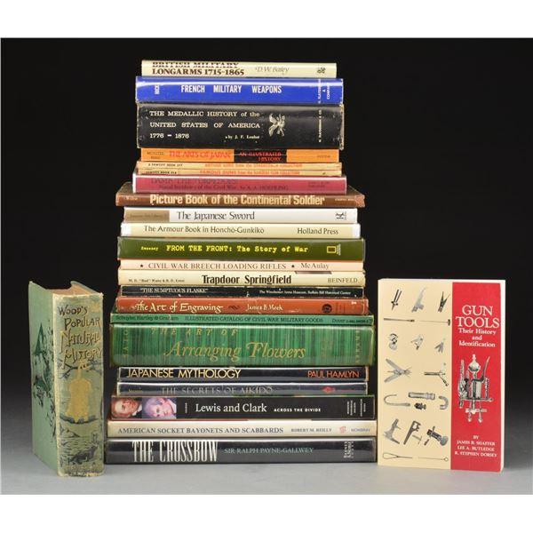VINTAGE & ANTIQUE FIREARM REFERENCE BOOKS.