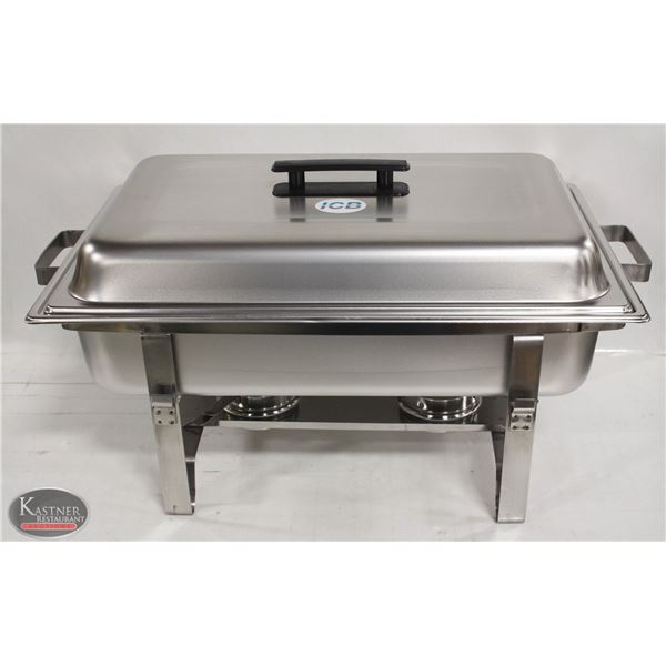 NEW STAINLESS STEEL COMMERCIAL CHAFING DISH