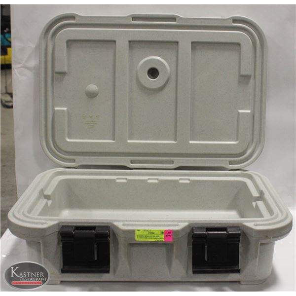 CAMBRO SINGLE FULL SIZE CAMTAINER FOOD PAN CARRIER
