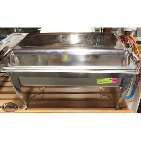 STAINLESS STEEL CHAFING DISH W/ 2 - 1/2 SIZE