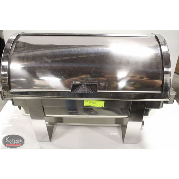 MAGNUM FULL SIZE ROLL TOP CHAFING DISH W/ WATER