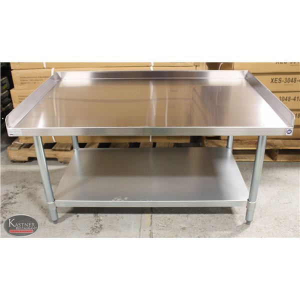 "NEW 30""X48""X24"" STAINLESS STEEL EQUIPMENT STAND W/"