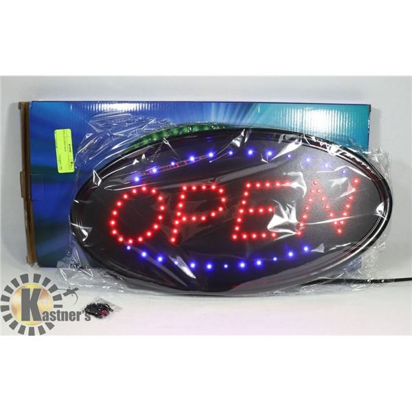 NEW LED OPEN SIGN