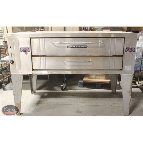 BAKER'S PRIDE COMMERCIAL SINGLE DECK PIZZA OVEN
