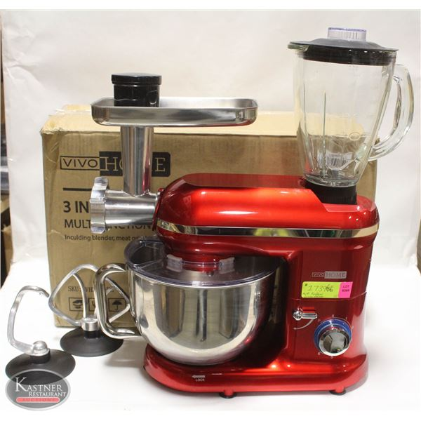 3-IN-1 MULTIFUNCTIONAL STAND MIXER VH292-RE