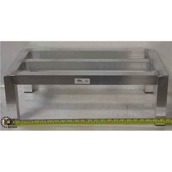 "UPDATE 14"" X 24"" HEAVY DUTY ALUMINUM DUNNAGE RACK"