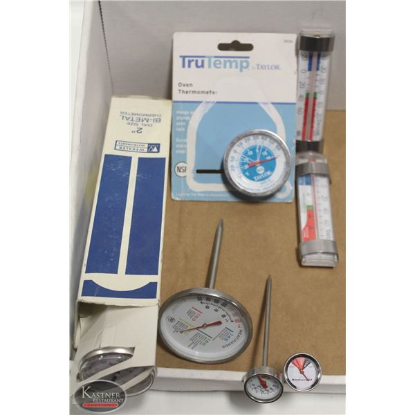LOT OF 7 THERMOMETERS