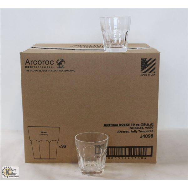CARDINAL ARCOROC GOTHAM 10 OZ. ROCKS GLASS