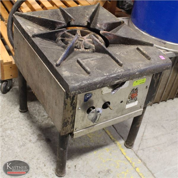 WOLF SINGLE BURNER POT STOVE - AS IS