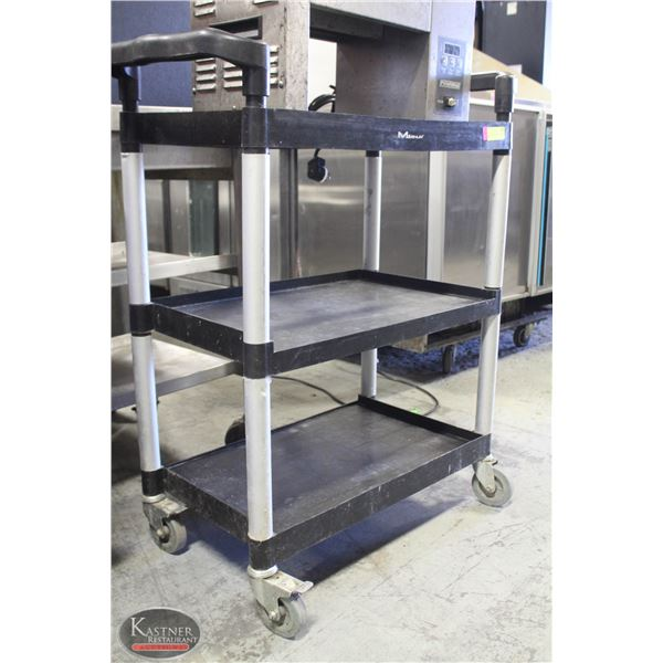 MAGNUM 3 TIER WHEELED BUSSING CART