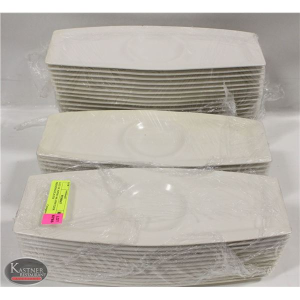 LOT OF APPRO 48 APPETIZER SERVING PLATES