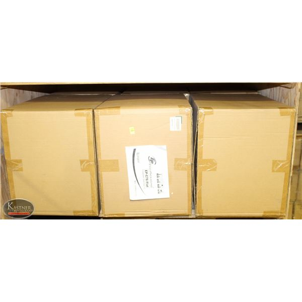 3 CASES OF 2000 ECO-PACKAGING 76MM FLAT LIDS