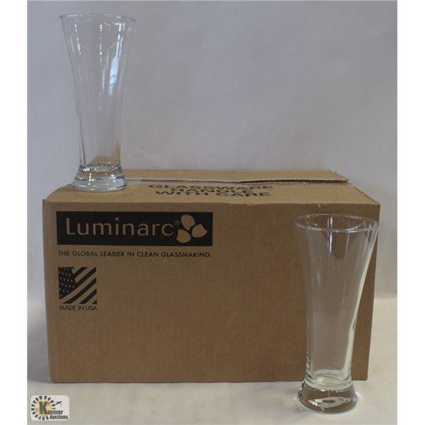 MARTIGUES PILSNER 12OZ GLASS- 1 CASE