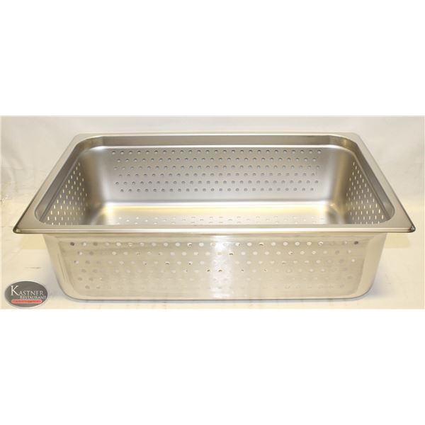"""NEW FULL SIZE 6"""" DEEP ST STEEL PERFORATED INSERT"""