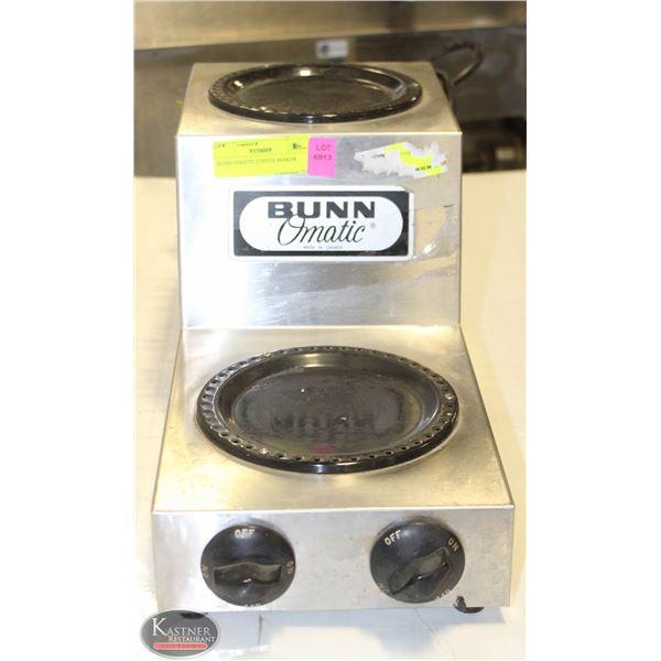 BUNN O'MATIC DUAL COFFEE WARMER