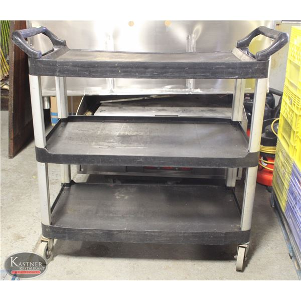 3 TIER WHEELED BUSSING CART
