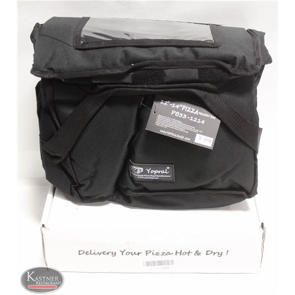 """NEW YOPRAL PROFESSION PIZZA DELIVERY BAG 12-14"""""""