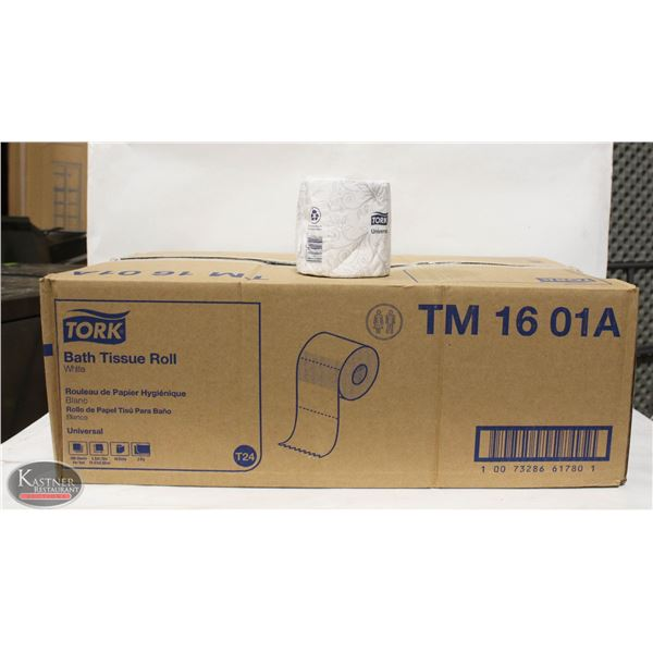 CASE OF 48 TORK BATH TISSUE ROLLS - TM 16 01A