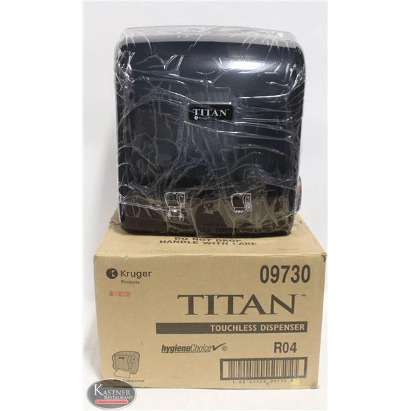 KRUGER TITAN TOUCHLESS PAPER DISPENSER 09730