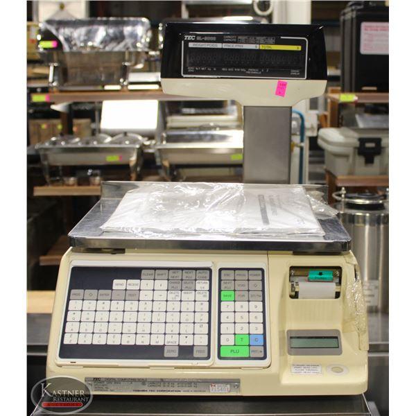 TEC SL-9000 SCALE - ACCURACY 0.01LBS - 13 LOGO