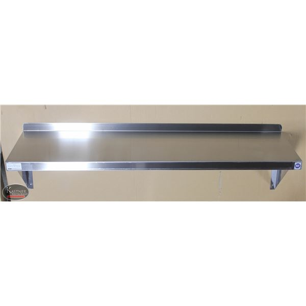 "NEW 48""X14"" STAINLESS STEEL WALL SHELF"