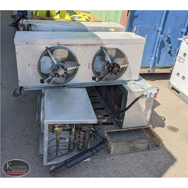 GROUP OF 4 KEEPRITE COOLING UNITS