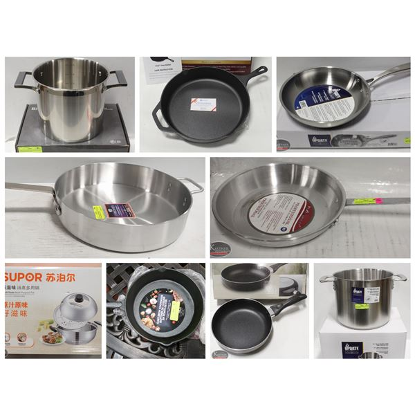 FEATURED LOT: NEW COOKWARE