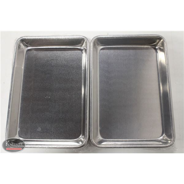 LOT OF 4 NEW WINCO 1/8 SIZE SHEET PANS