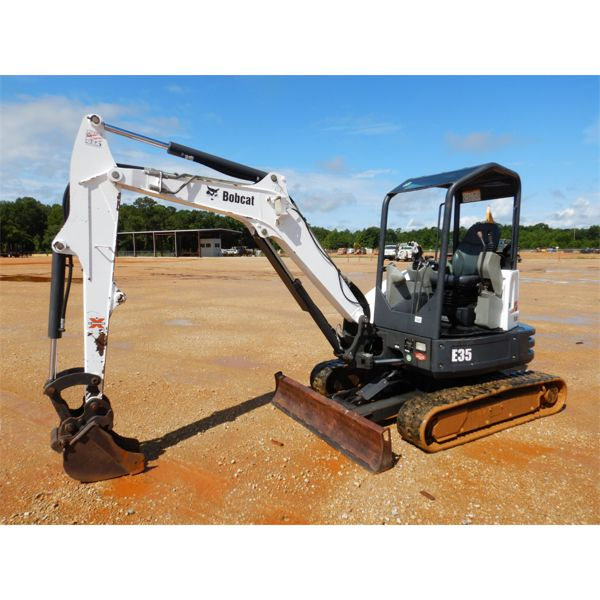 2015 BOBCAT E35 Excavator - Mini