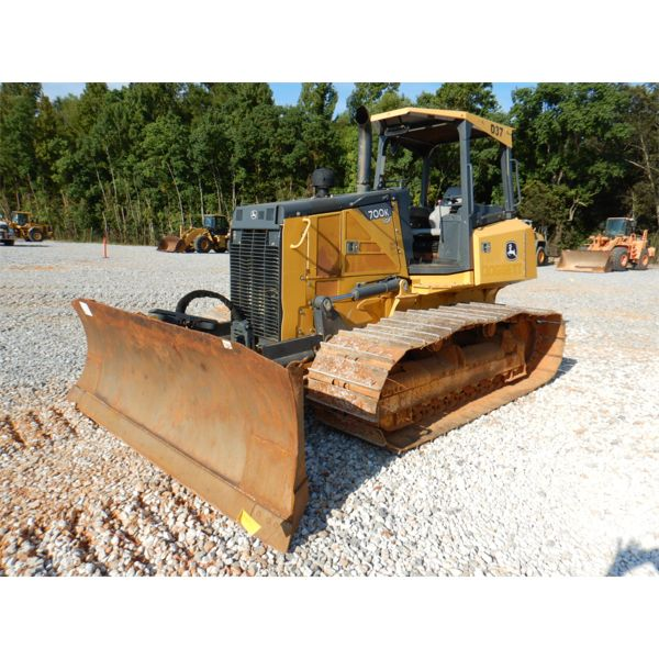 2014 JOHN DEERE 700K LGP Dozer / Crawler Tractor